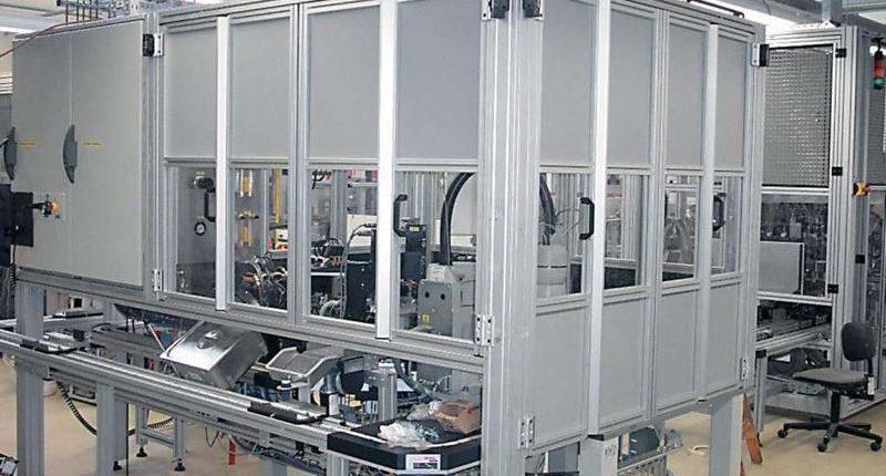 Strutture in alluminio realizzate a progetto